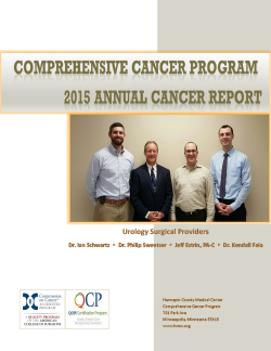 2015 annual report cancer