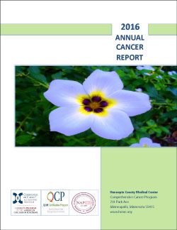 2016 annual cancer report- lymphoma