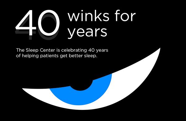 40 winks for 40 years sleep center