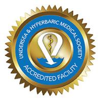 hyperbaric medicine accreditation logo