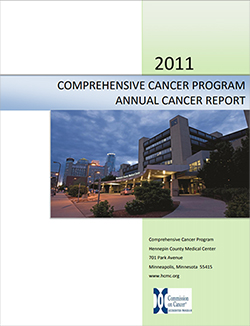 2011 annual report cancer center