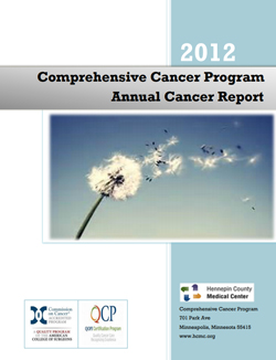 2012 annual report cancer center