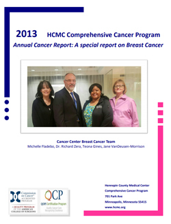 2013 annual report cancer center