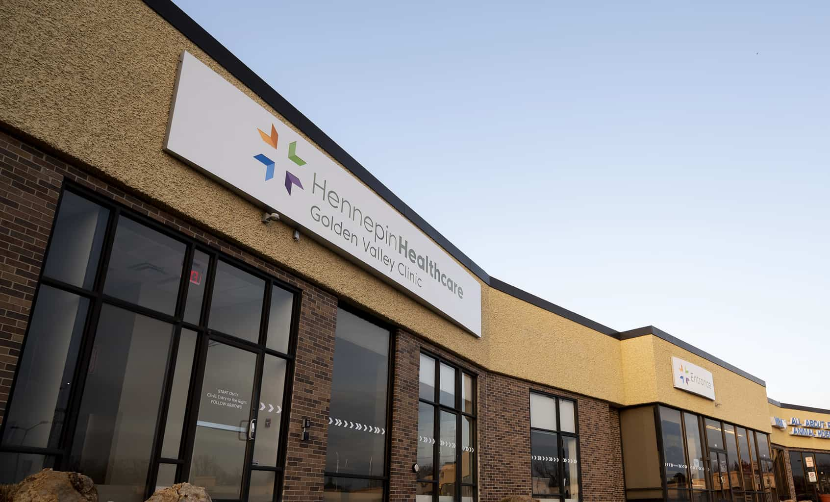 golden valley clinic exterior