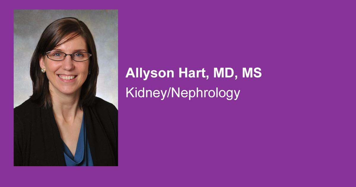Allyson Hart, MD, MS - Hennepin Healthcare