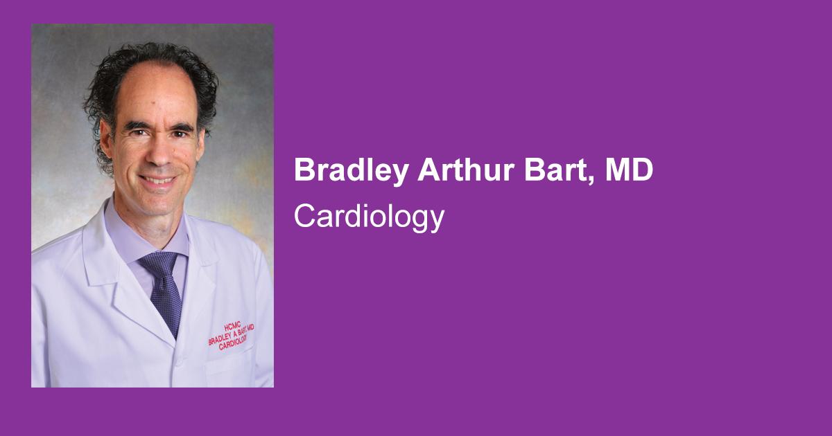 Bradley Arthur Bart, MD - Hennepin Healthcare