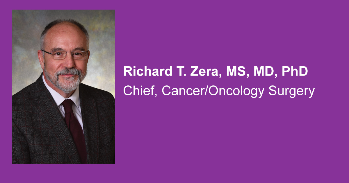 Richard T  Zera, MS, MD, PhD - Hennepin Healthcare