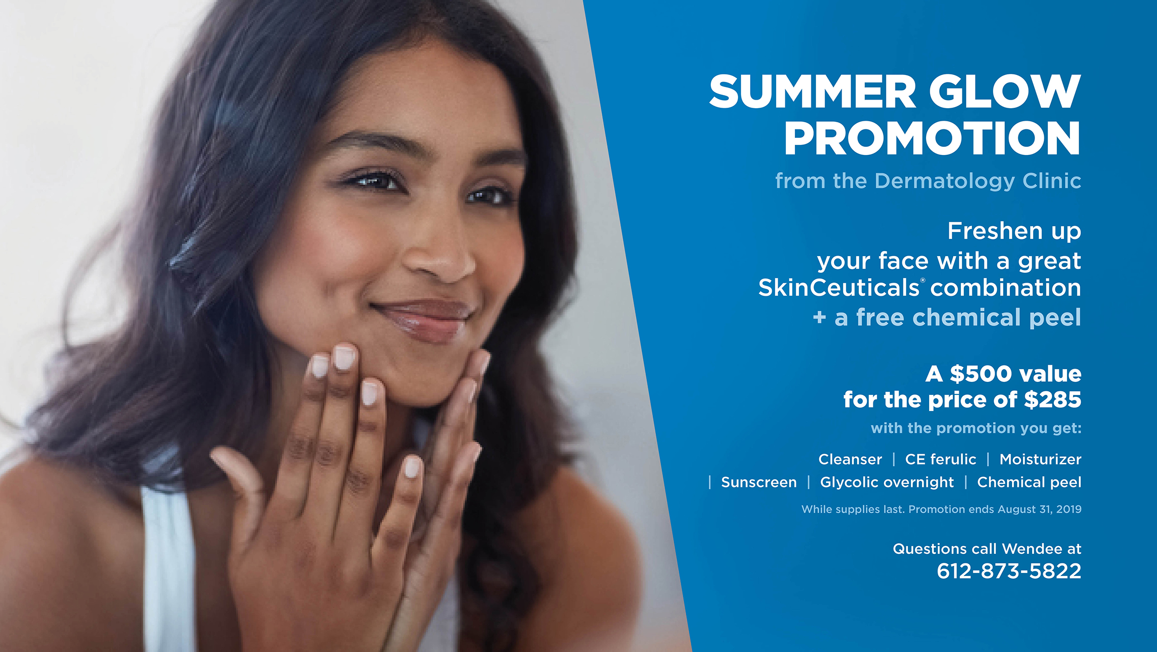 cosmetic dermatology promotion