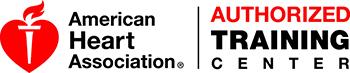 american heart association authorized training logo