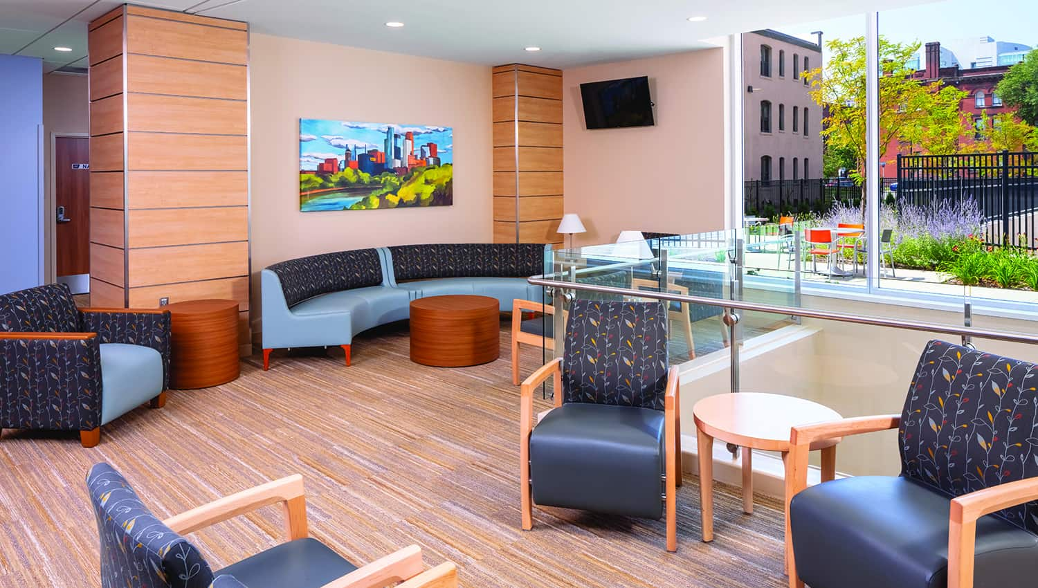 clinic and specialty center lobby