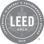 LEED gold award logo