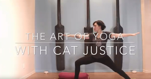 Yoga with Cat Justice
