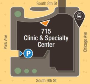 Clinic & Specialty Center Map