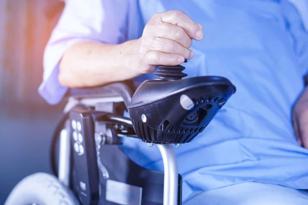 at nursing hospital ward : healthy strong medical concept