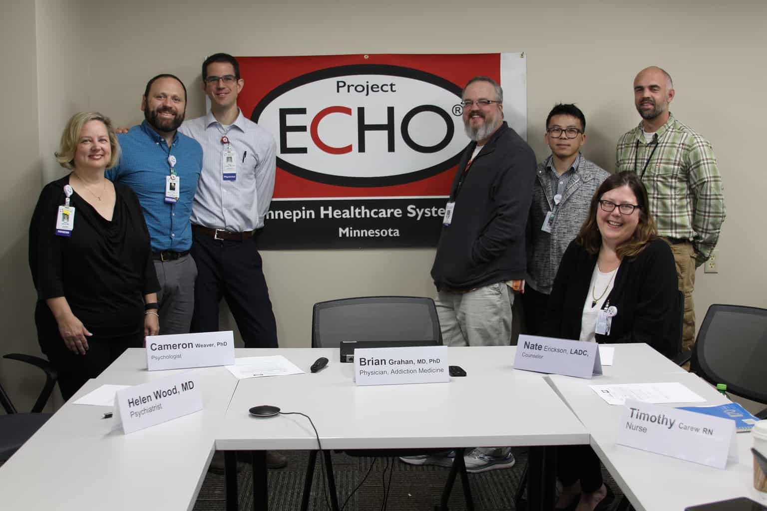echo staff group