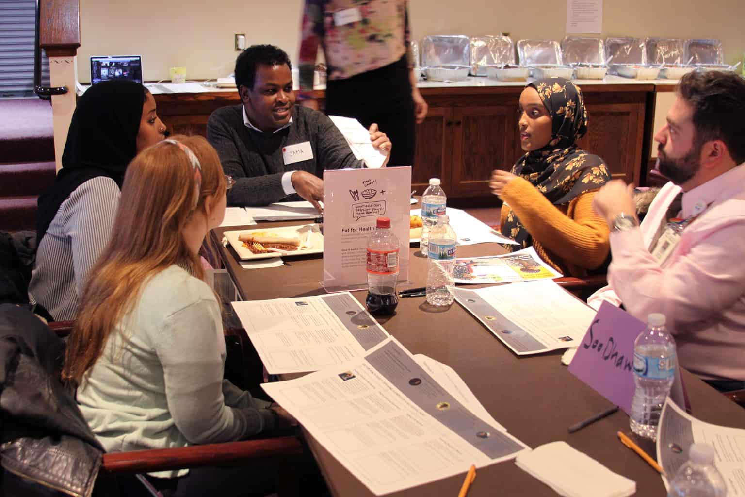 community involvement somali session