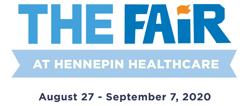 the fair at hennepin text graphic
