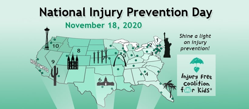 injury prevention day graphic