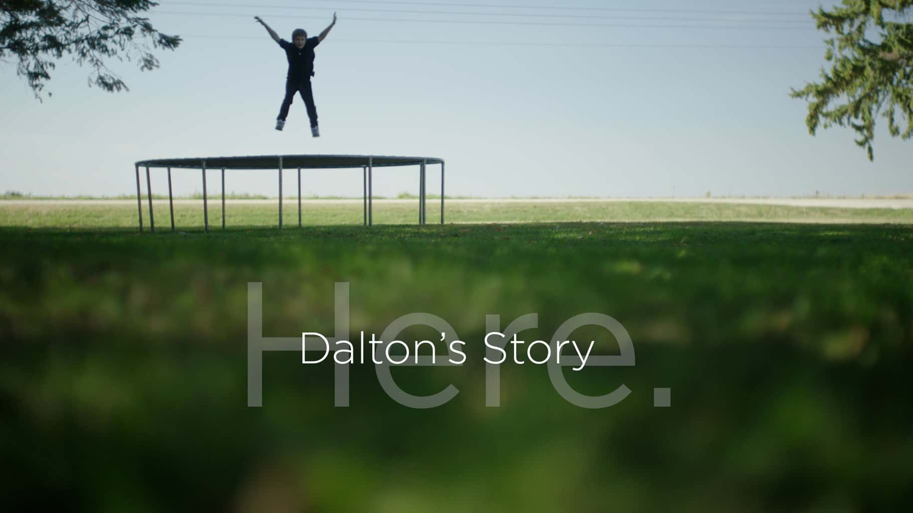 hero here video graphic photo dalton