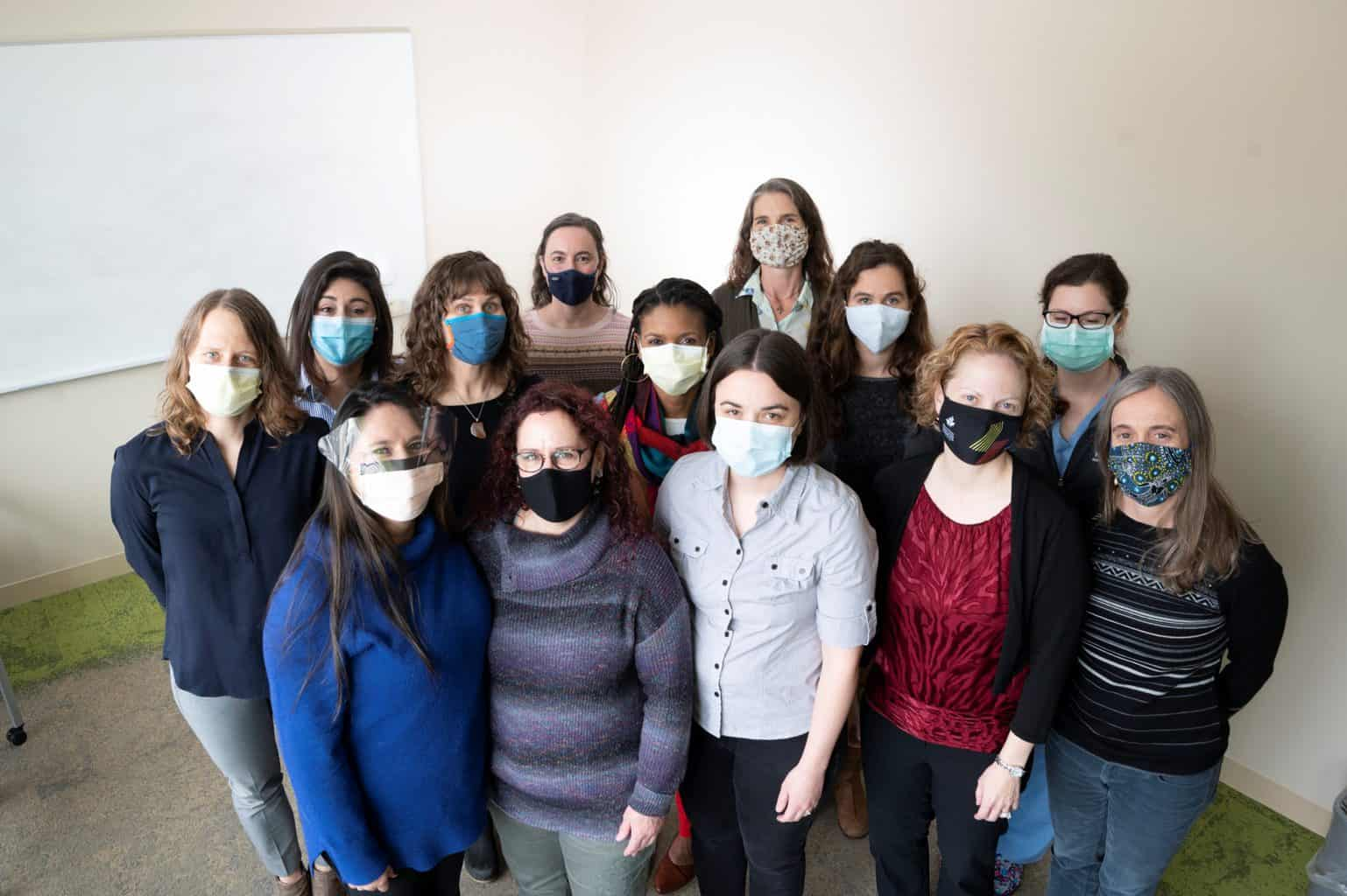 midwives masked